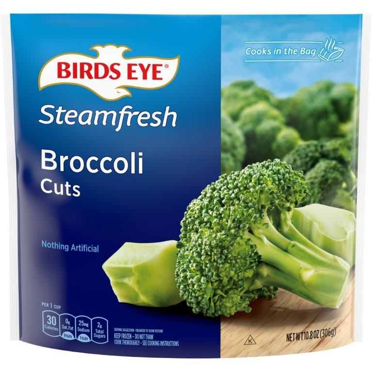 Birds Eye Steamfresh Broccoli Cuts, Frozen Vegetable, 10.8 OZ