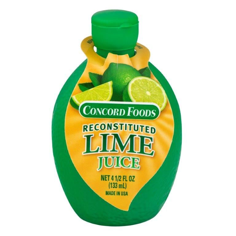 Concord Foods Reconstituted Lime Juice, 4.5 oz