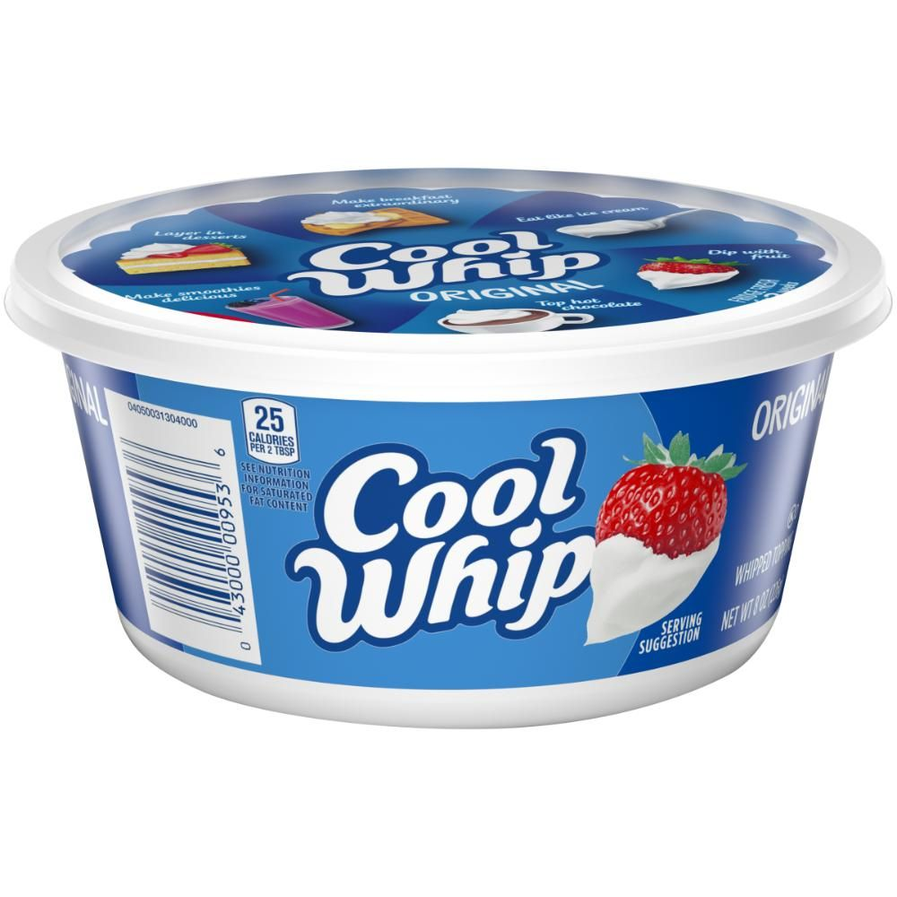 Cool Whip Original Whipped Topping, 8 oz.