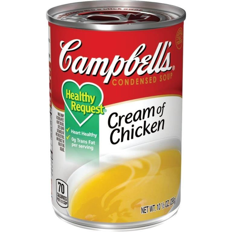 Campbell's®CondensedHealthy Request®Cream of Chicken Soup, 10.5 oz. Can