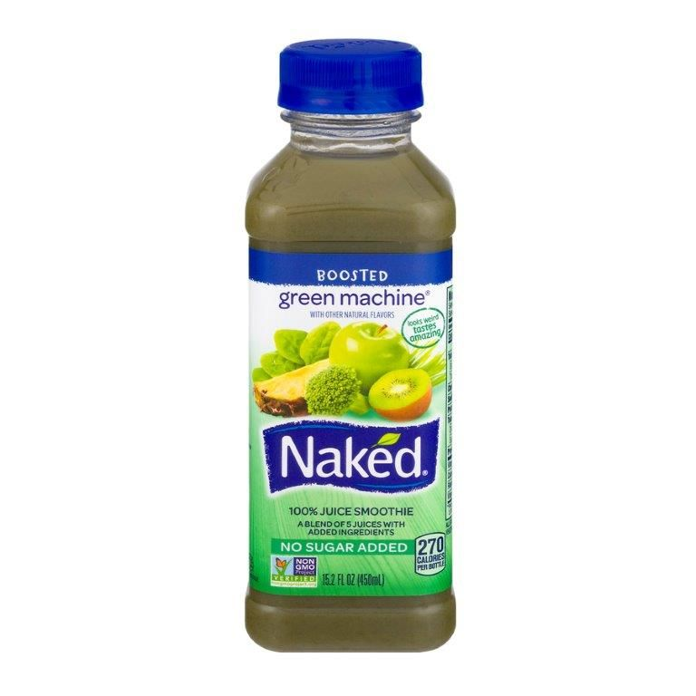 Naked 100% Juice Smoothie Boosted Green Machine, 15.2 oz