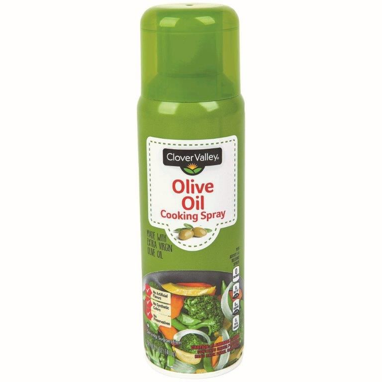 Clover Valley Olive Oil Cooking Spray, 6 Oz.