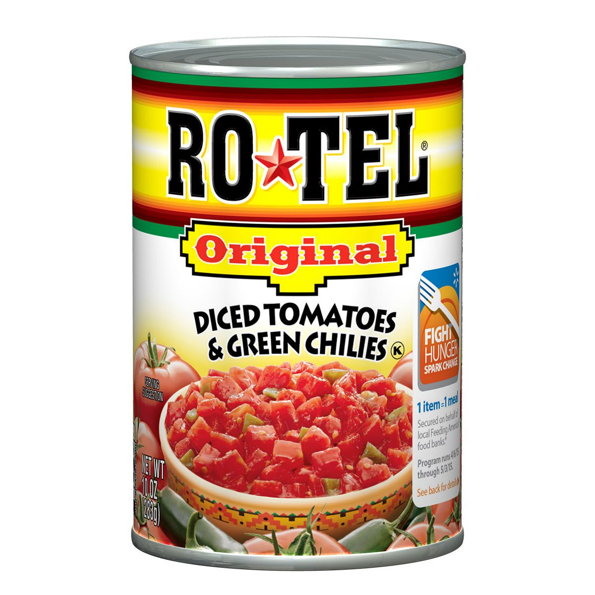 Rotel Diced Tomatoes - 10oz