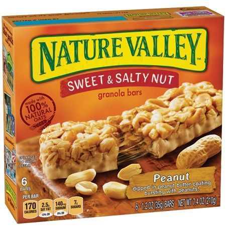 Nature Valley Sweet & Salty Peanut Granola Bars,  6 ct