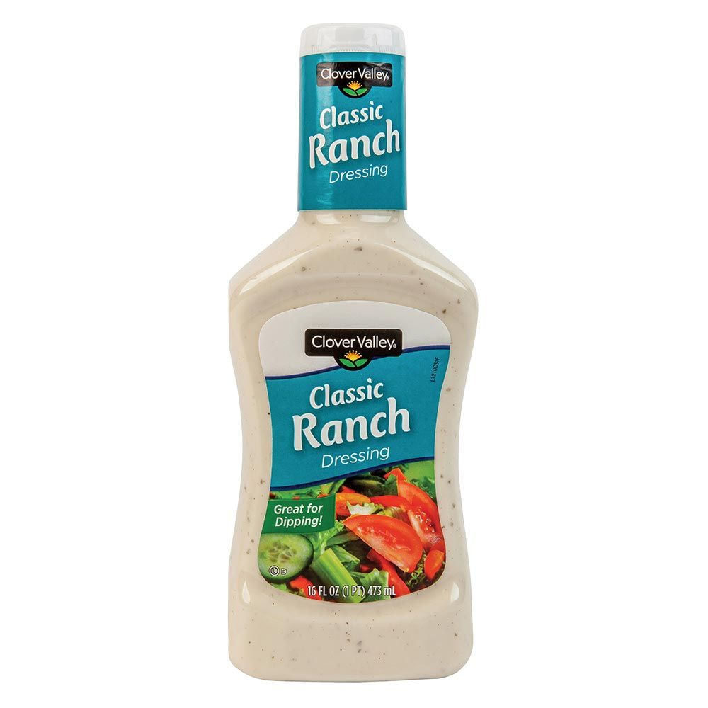 Clover Valley Classic Ranch Salad Dressing, 16 Oz.