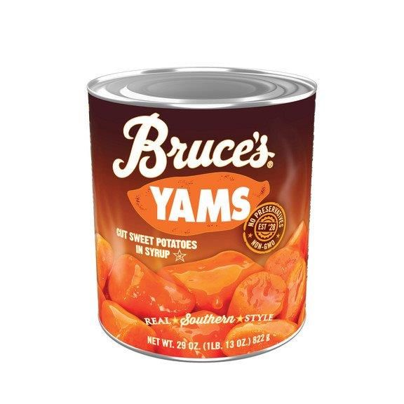 Bruce's Yams Cut Sweet Potatoes in Syrup, 29 oz.