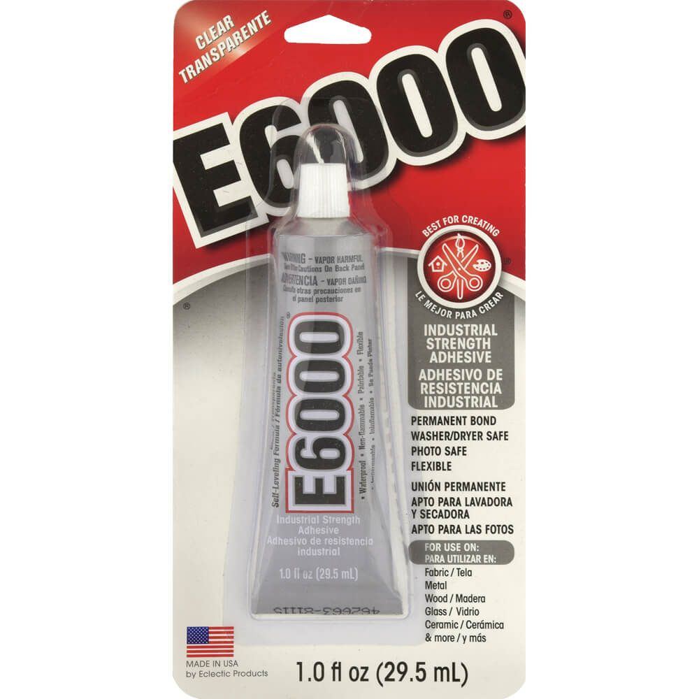 E-6000 Industrial Strength Adhesive, 1 oz