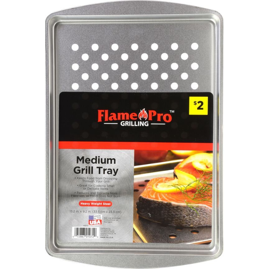 Flame Pro Grilling Medium Grill Tray, 1 ct