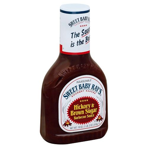 Sweet Baby Ray's Barbecue Sauce, Hickory & Brown Sugar, 18 oz
