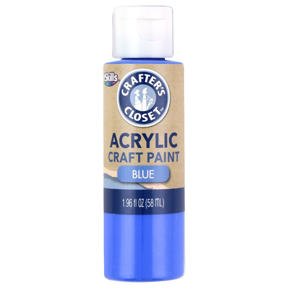 ArtSkills Crafters Closet Acrylic Paint Blue/Black