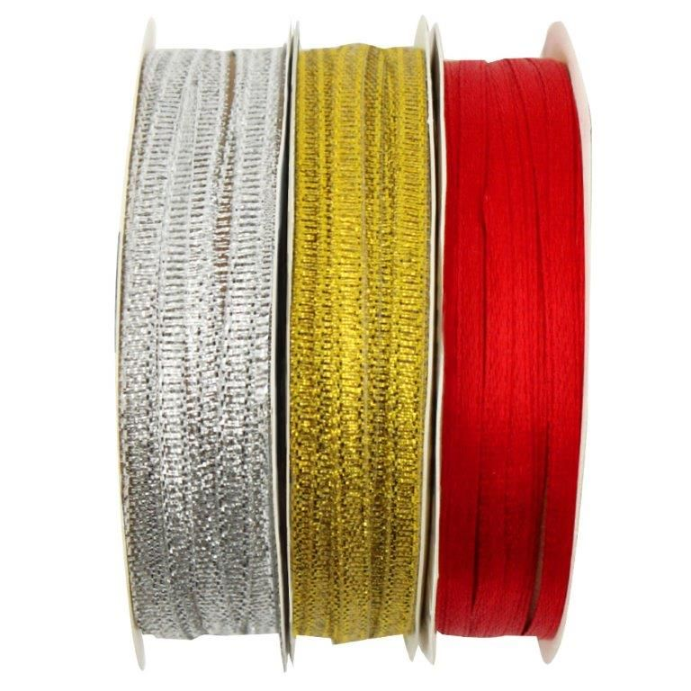"Artskills 1/8"" Thin Ribbon, Assorted, 10 yards"