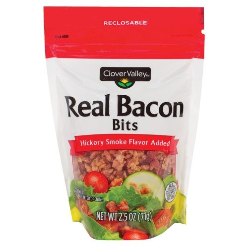 Clover Valley Real Bacon Bits, Hickory Smoked , 2.5 oz