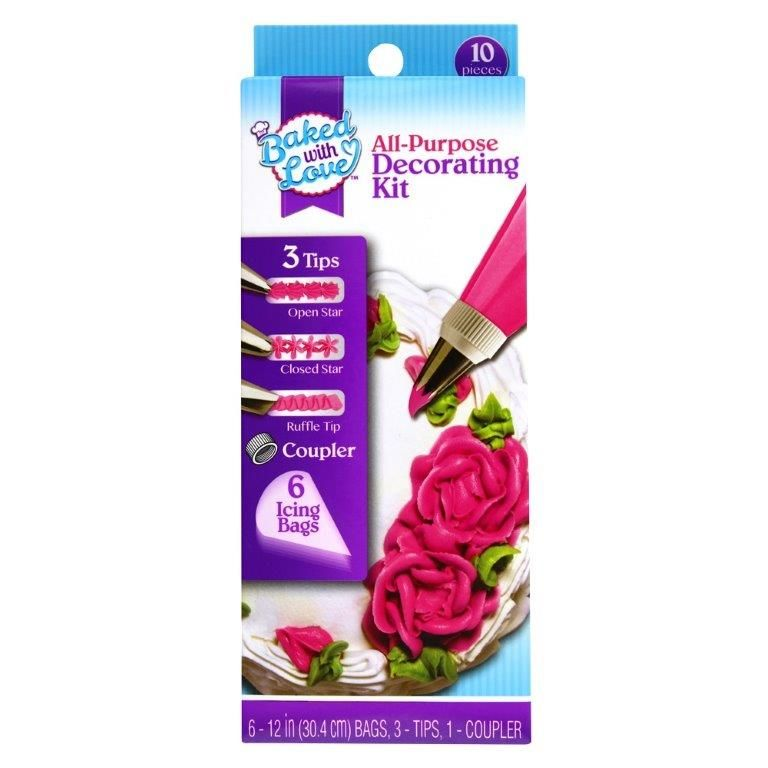 Baked with Love Cupcake Decorating Kit