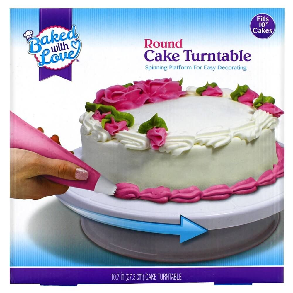 Baked with Love Cake Turntable