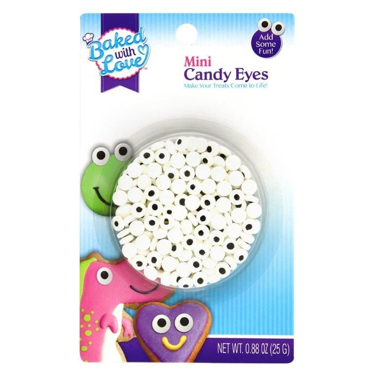 Baked with Love Mini Candy Eyes