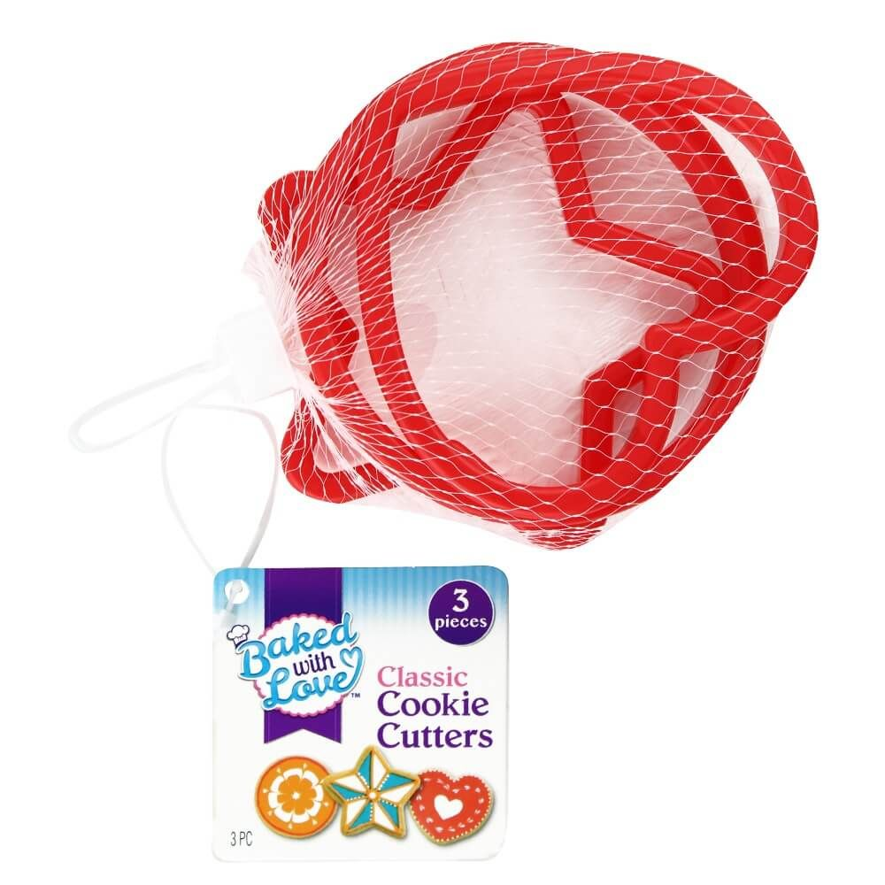 Baked with Love Cookie Cutters - Assorted