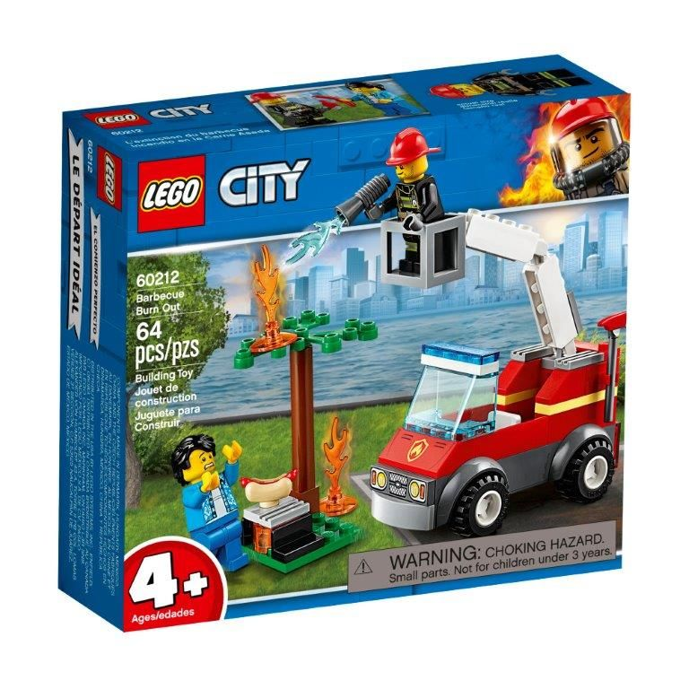 LEGO® City Fire Barbecue Burn Out