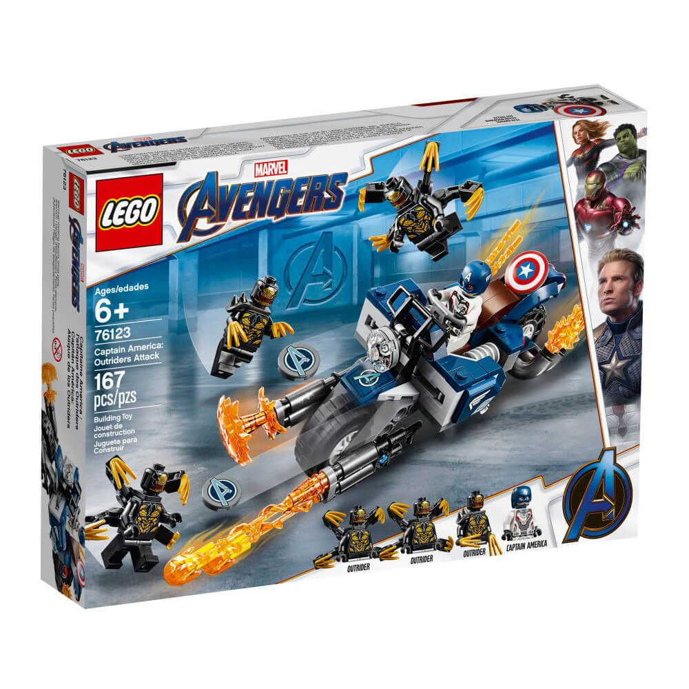 LEGO® Super Heroes Capt America Outriders Attack