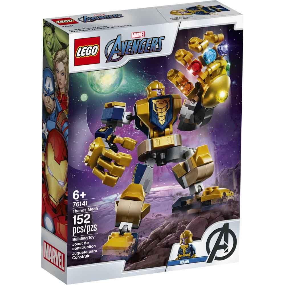 LEGO® Super Heroes Thanos Mech 76141 Building Kit (152 Pieces)