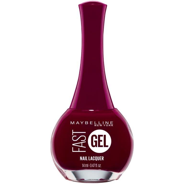 Maybelline Fast Gel Fast Drying Gel Nail Polish -  Possessed Plum