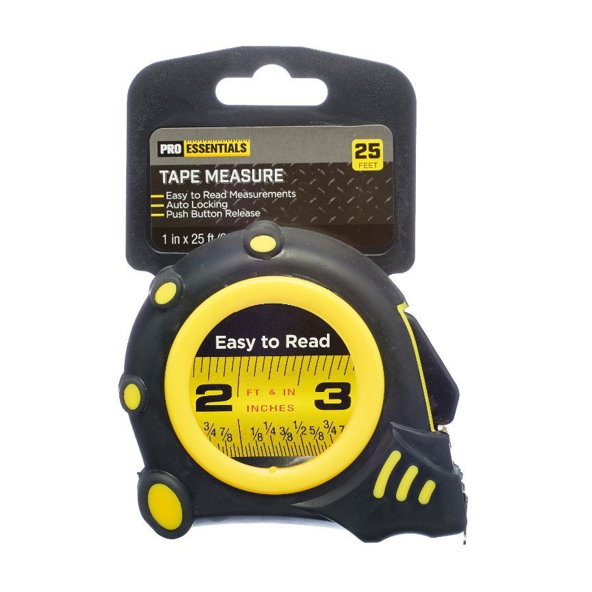 ProEssentials Tape Measure 25 ft
