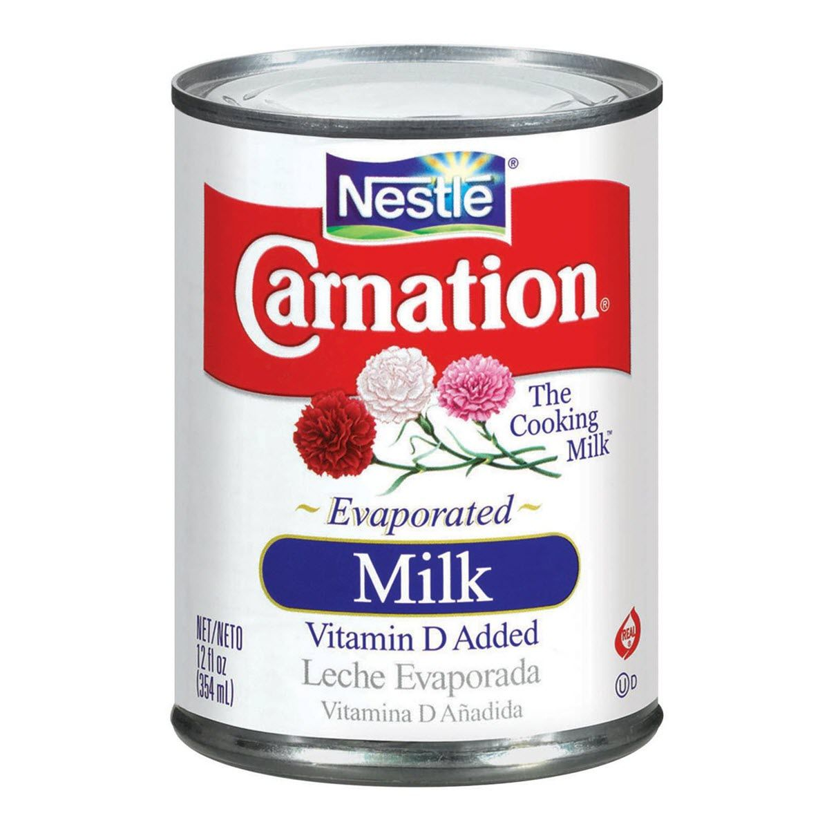 CARNATION Vitamin D Added Evaporated Milk 12 fl. oz. Can