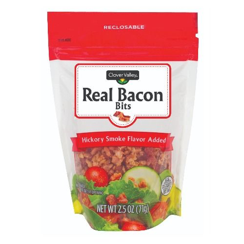 Clover Valley Real Bacon Bits, Hickory Smoked, 2.5 oz