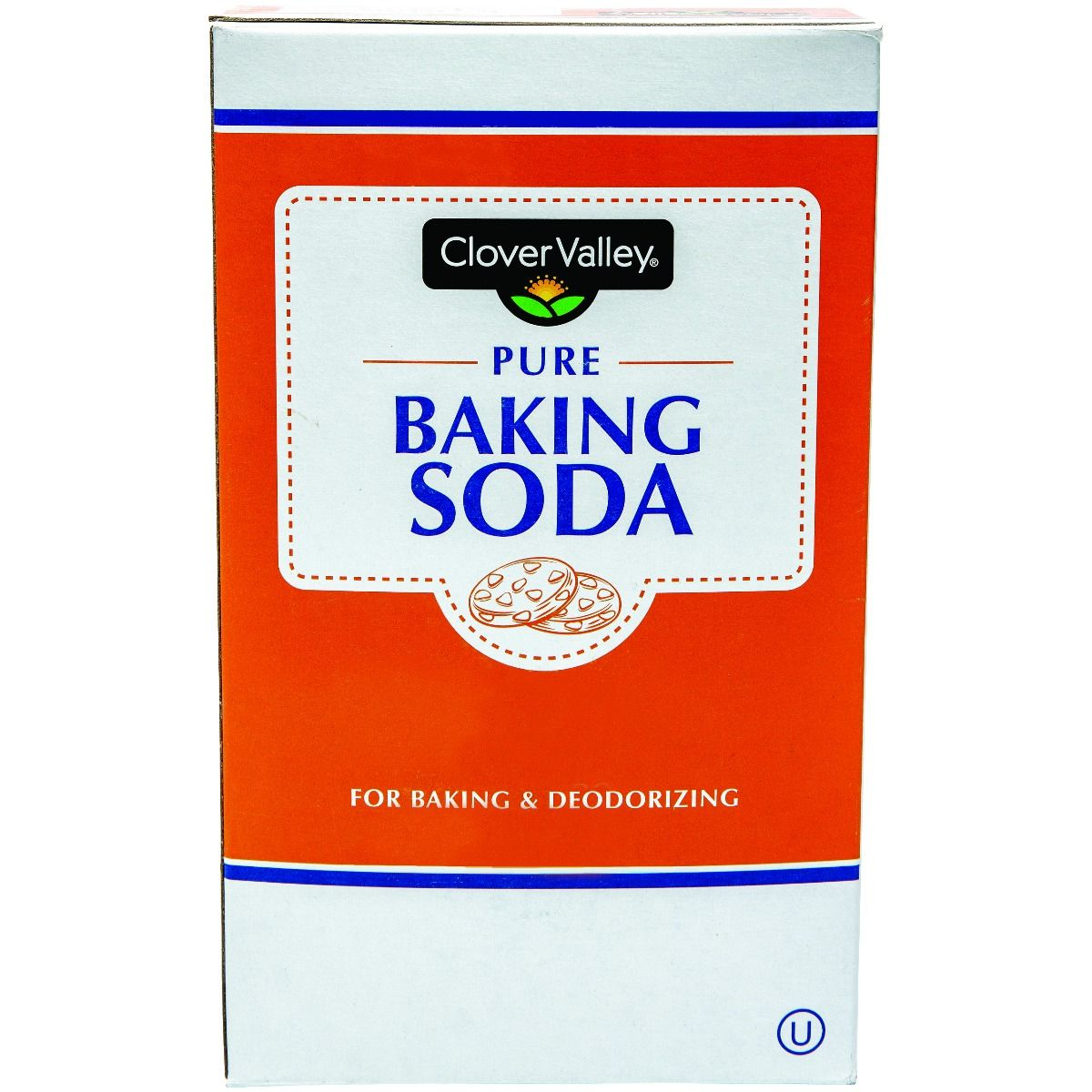 Clover Valley Baking Soda 16 oz Box