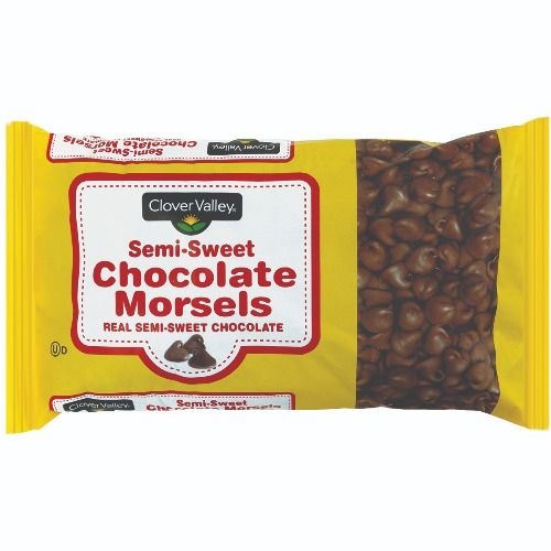 Clover Valley Semi-Sweet Chocolate Morsel Chips, 12oz