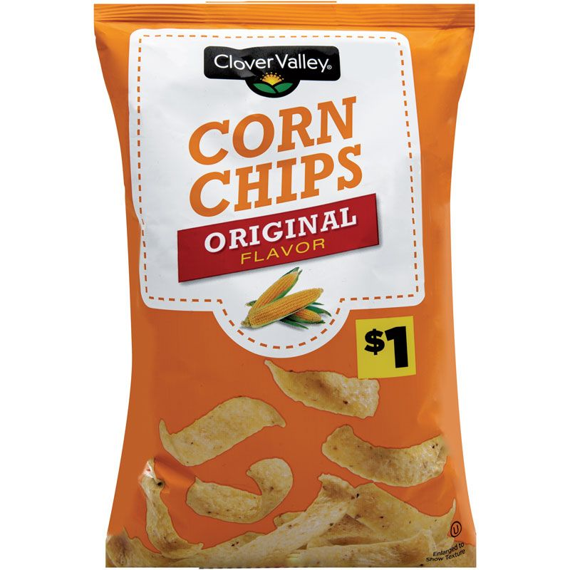 Clover Valley Corn Chips, 9.25 oz