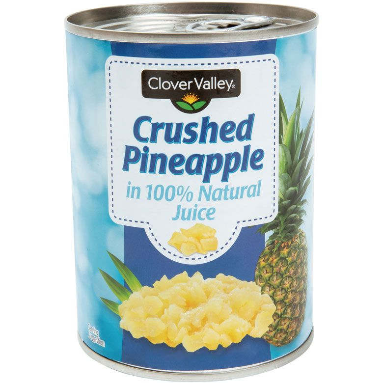 Clover Valley Crushed Pineapple, 20 Oz.