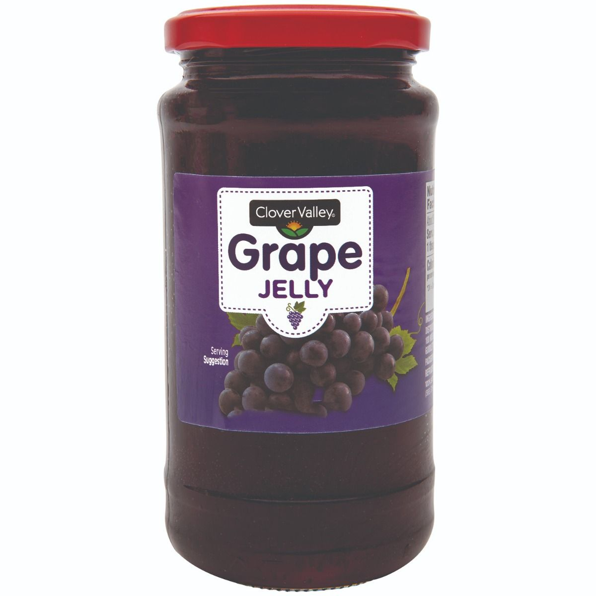 Clover Valley Grape Jelly, 18 oz