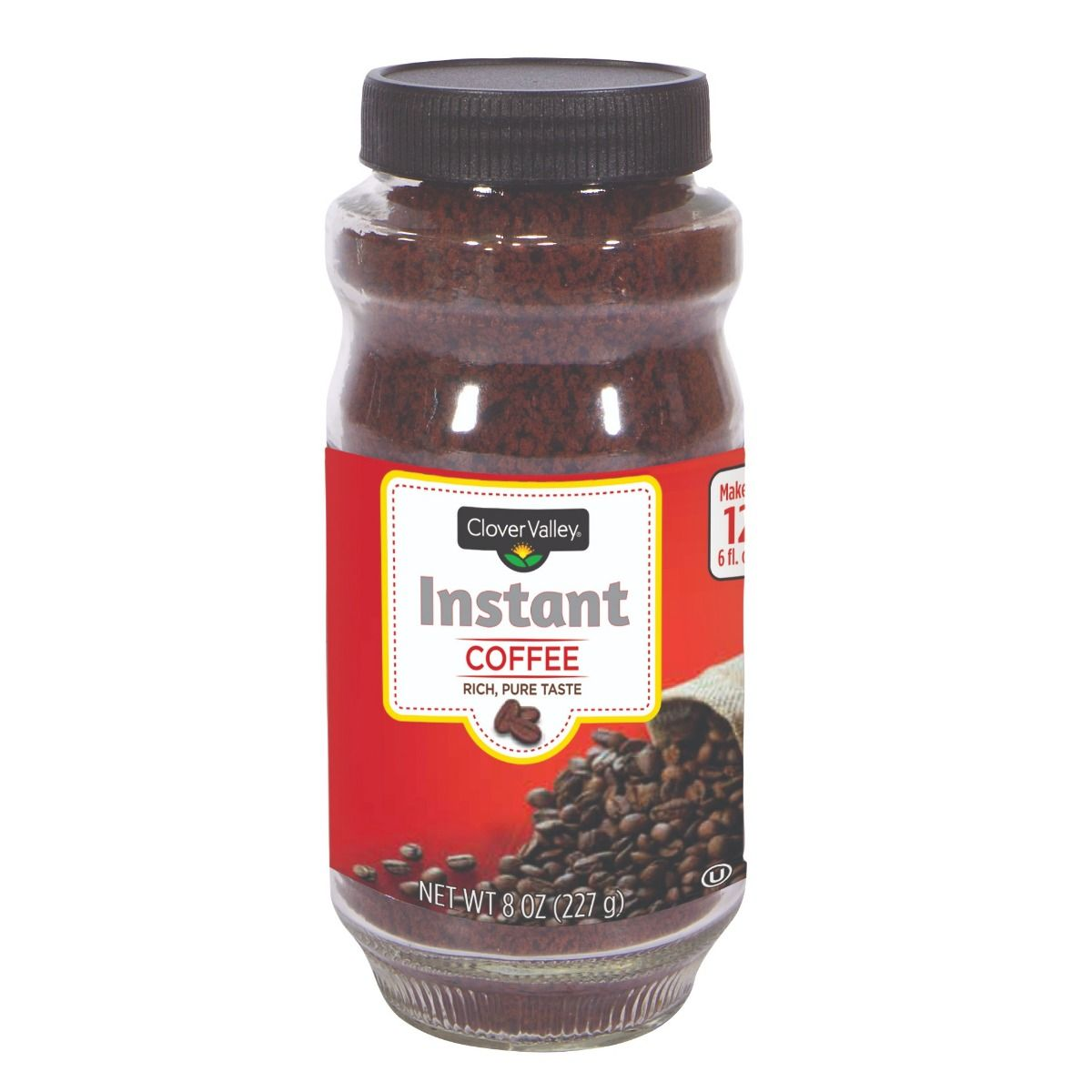 Clover Valley Instant Coffee - 8 oz