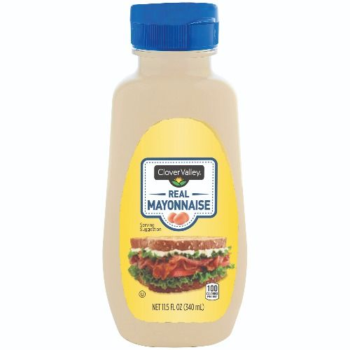 Clover Valley Real Mayonnaise, 11.5 Oz.