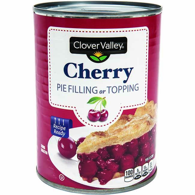 Clover Valley Cherry Pie Filling, 21 Oz.