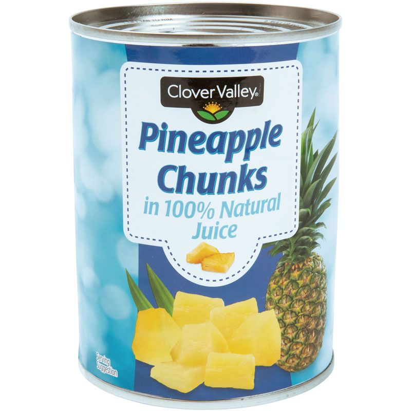 Clover Valley Pineapple Chunks, 20 Oz.