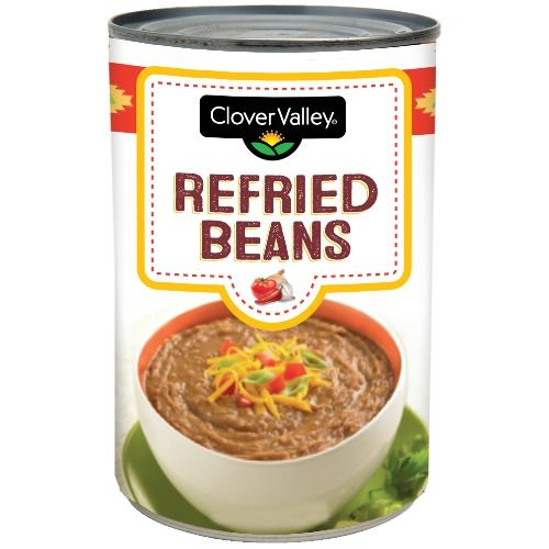 Clover Valley Refried Beans, 16 Oz.