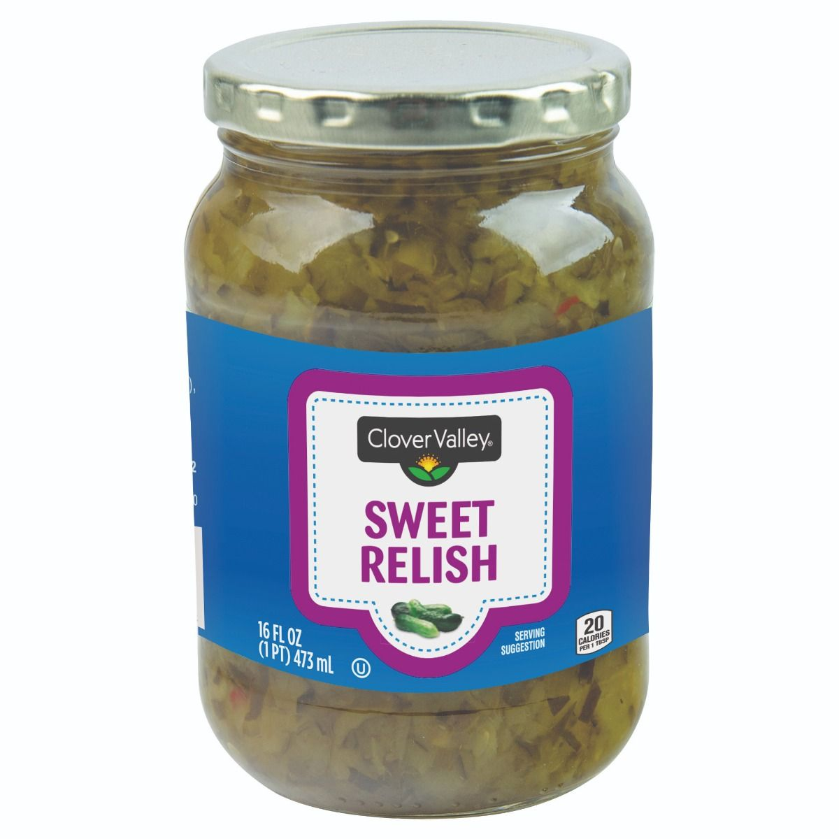 Clover Valley Sweet Relish, 16 oz