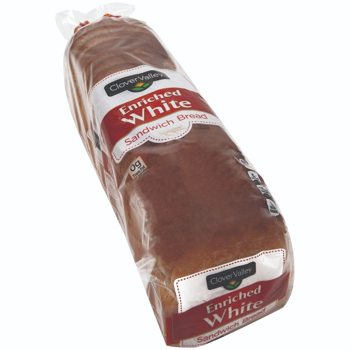 Clover Valley Enriched White Sandwich Bread, Loaf