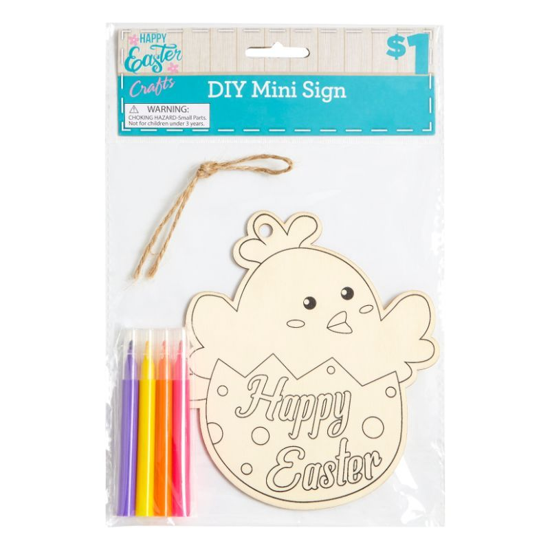 DIY Mini Easter Sign - Assorted