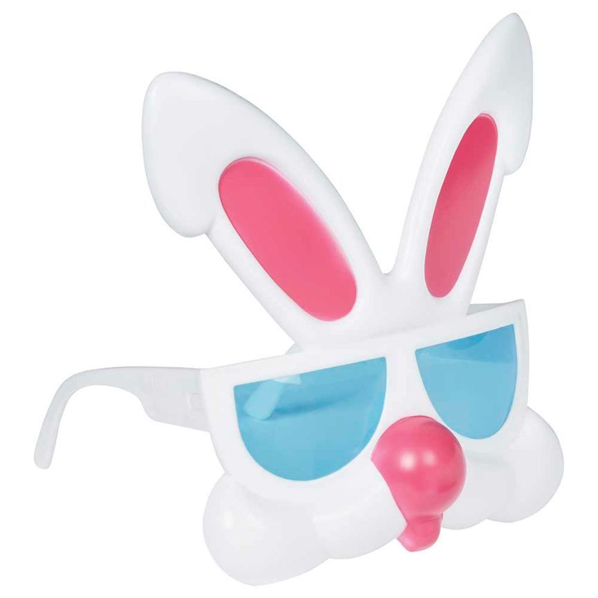 Happy Easter Novelty Bunny Glasses - Assorted, 1 ct