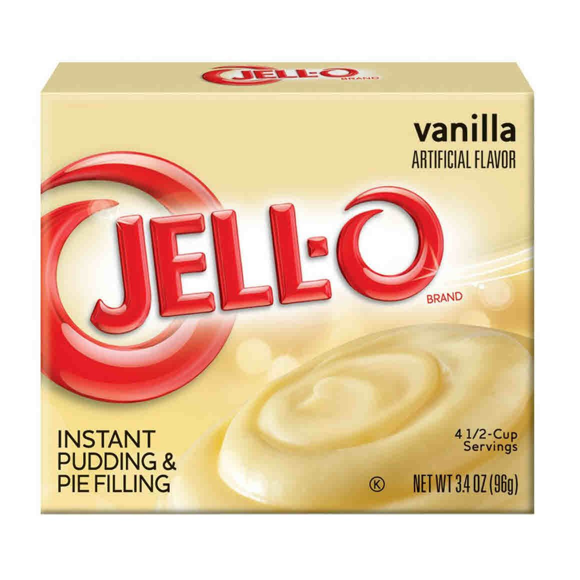 Jello Instant Vanilla Pudding - 3.4oz