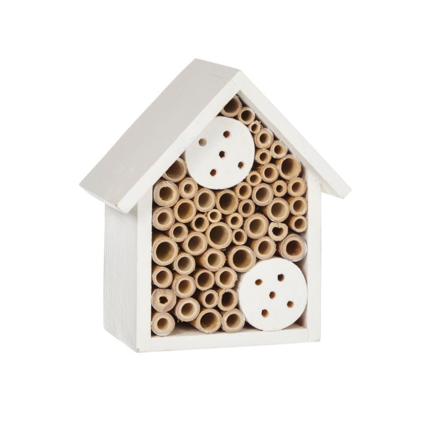 True Living Outdoors Painted Bee Hotel - Assorted, 1 ct