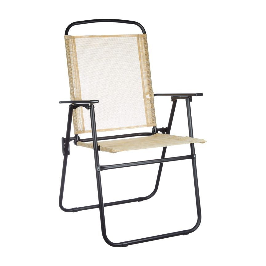 True Living Outdoors Sling Folding Chair, 1 ct