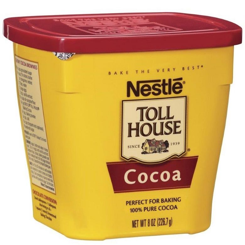 NESTLE TOLL HOUSE Cocoa 8 oz. Plastic Canister