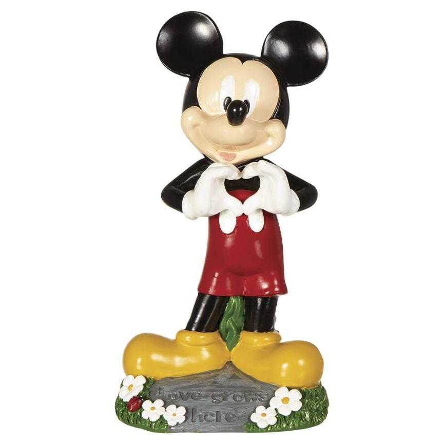 Disney Large Garden Figure - Mickey/Minnie Mouse Love Assorted, 1 ct
