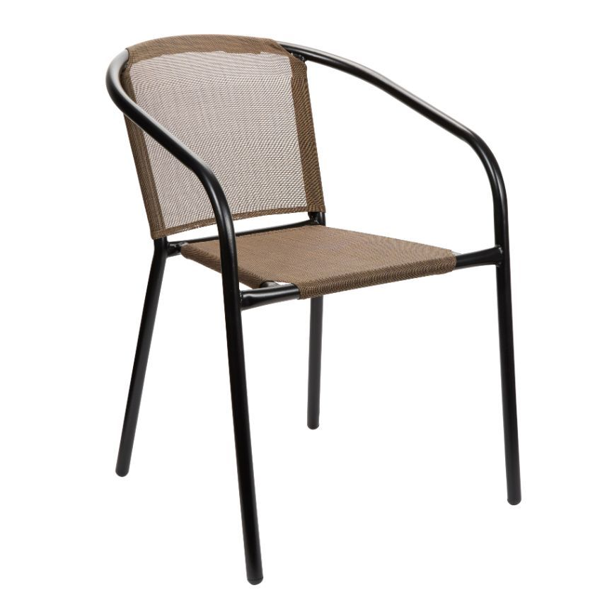 True Living Outdoors Low Back Sling Chair - Sand, 1 ct