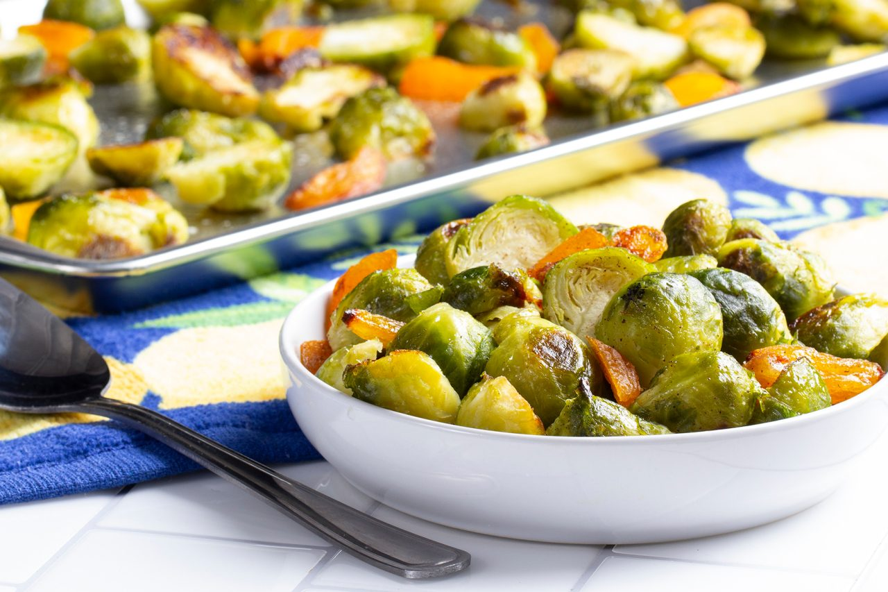 Cinnamon-Kissed Brussels Sprouts